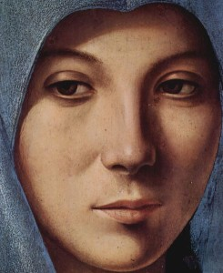 MAria di Antonello da Messina