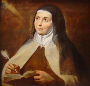 Pieter Paul Rubens - Santa Teresa d'Avila