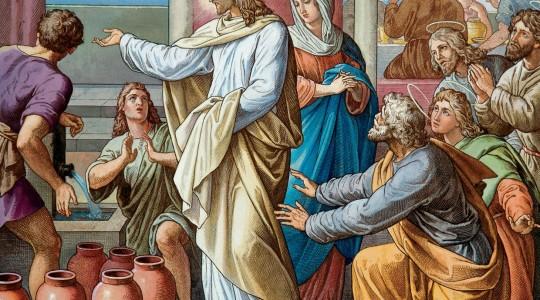 Gesù e Maria a Cana   (audio mp3)